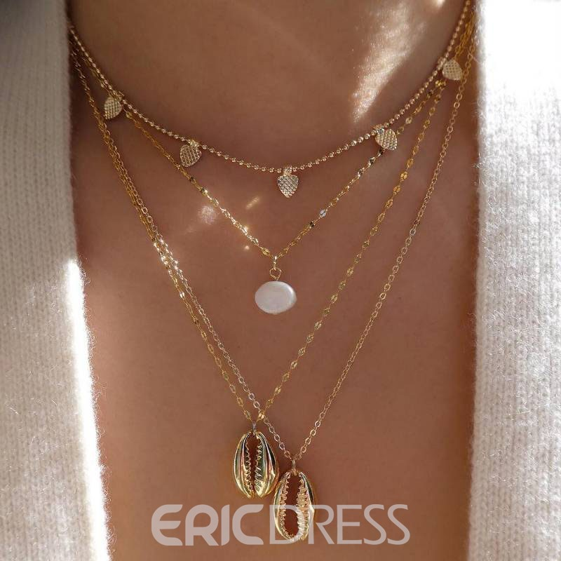 Ericdress E-Plating Sweet Female Women's Necklaces