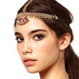 Ericdress Diamante Head Chain Gift Hair Accessories
