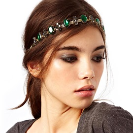 Ericdress Head Chain Crystal Inlaid Party Hair Accessories