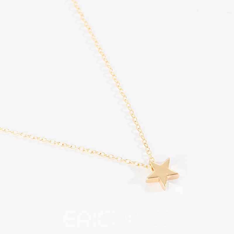 Ericdress Star European Female Necklaces