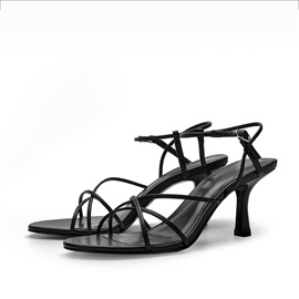 Ericdress Pointed Toe Ankle Strap Buckle Cross Strap Sandals