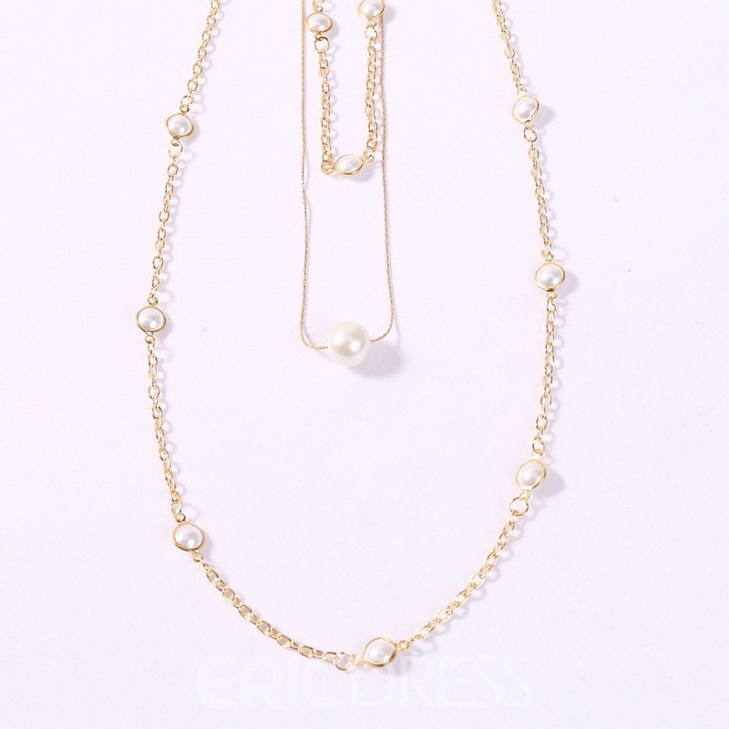 Ericdress Sweet Pearl Inlaid Female Necklaces
