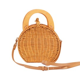 Ericdress Grass Knitted Circular Tote Bags