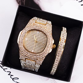 Ericdress Quartz Round Women's Watches