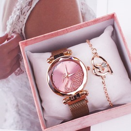 Ericdress Quartz Round Women's Slim Watches