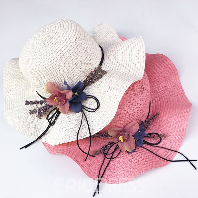 Ericdress Straw Hat 3D Plain Fall Hats