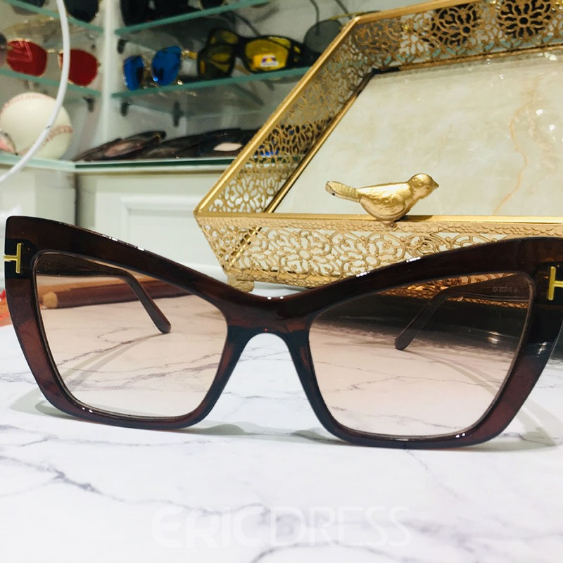 gafas de sol ericdress cat eye fashion
