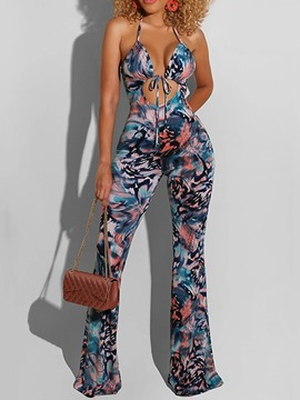 Ericdress Fashion Full Length Gradient Slim Bellbottoms Jumpsuit