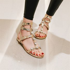 Ericdress Open Toe Buckle Buckle Sandals