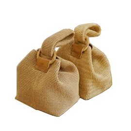Ericdress Knitted Grass Plain Barrel-Shaped Tote Bags