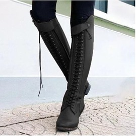 Ericdress Pointed Toe Chunky Heel Plain Western Boots