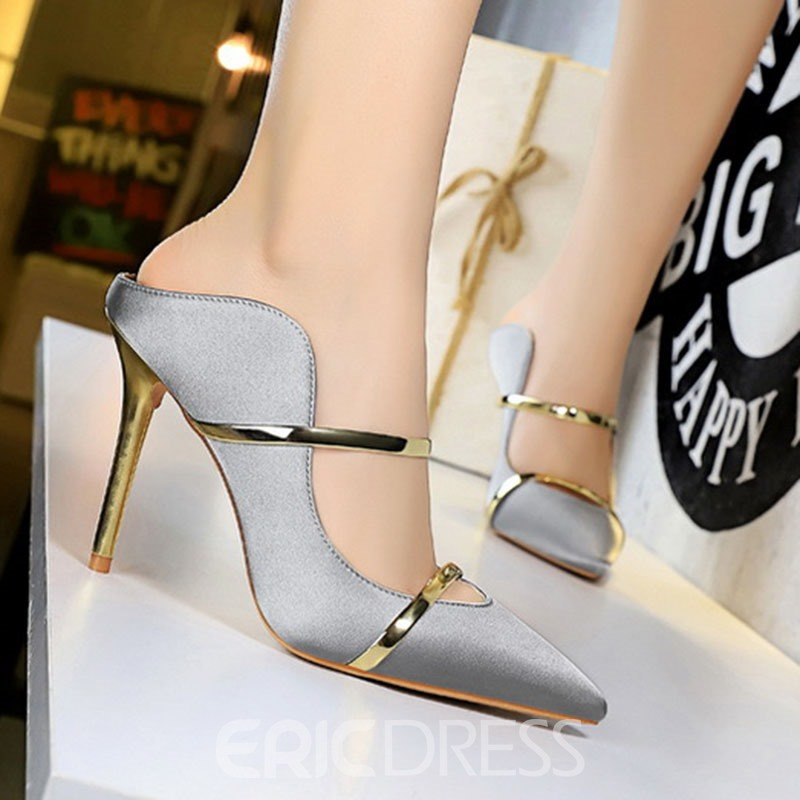 Ericdress Slip-On Closed Toe Hollow Rubber Slippers