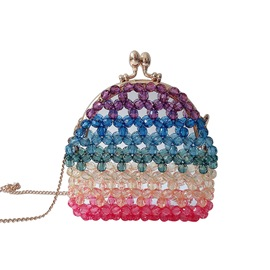 Ericdress Beads PVC Shell Crossbody Bags