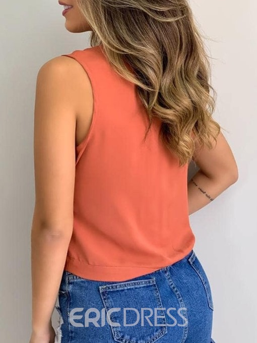 Ericdress Short Tank Top