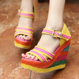 Cheap Women's Wedge Sandals On Sale