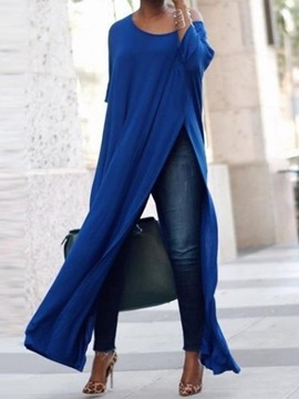 Ericdress Long Half Sleeve Plain Fashion Loose T-Shirt