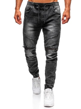 Ericdress Worn Hip Hop Lace-Up Jeans