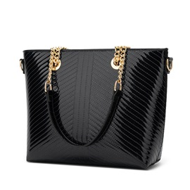 Ericdress Chain PU Rectangle Shoulder Bags