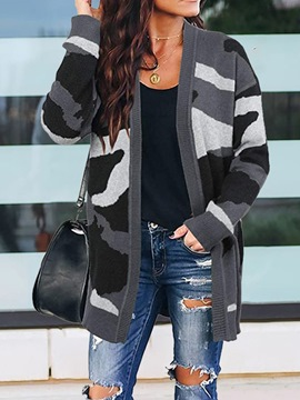 Ericdress Thin Patchwork Loose Fall Sweater