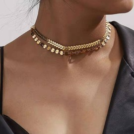 Ericdress Choker Necklace E-Plating Female Necklaces