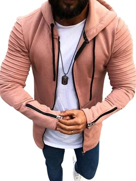 Ericdress Zipper Cardigan Zipper Casual Hoodies