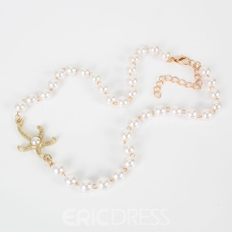 Ericdress Pendant Necklace Star Female Necklaces