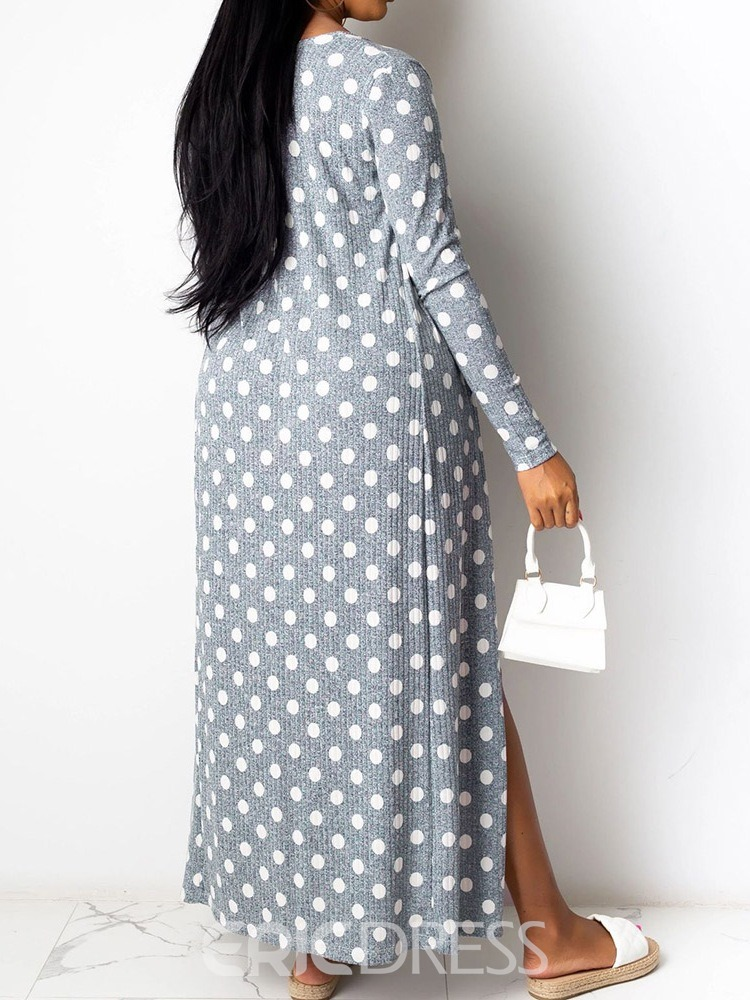 Ericdress Casual Jumpsuit Polka Dots Two Piece Sets