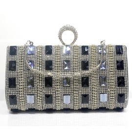 Ericdress Banquet PU Rectangle Clutches & Evening Bags