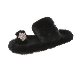 Ericdress Toe Ring Slip-On Beads Casual Slippers