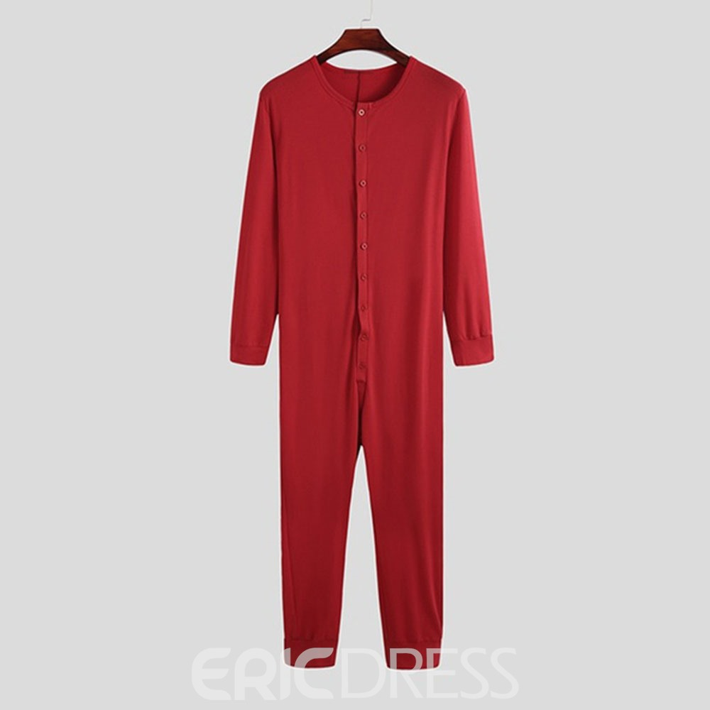 Ericdress Pencil Pants Full Length Plain Jumpsuits/Overalls