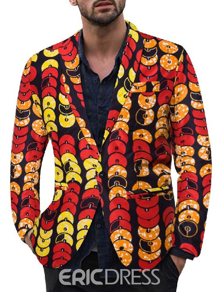 Ericdress Floral Print Casual Leisure Blazers