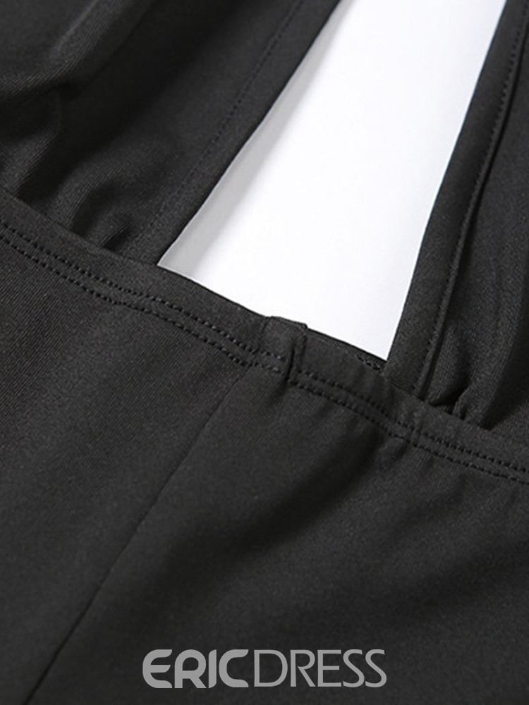 Ericdress Polyester Quick Dry Solid Spring Running Pants