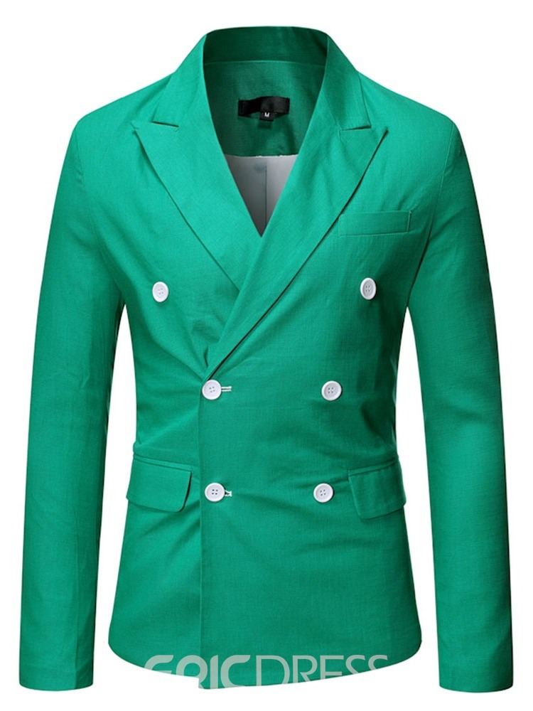 Ericdress Button OL Double-Breasted Blazer