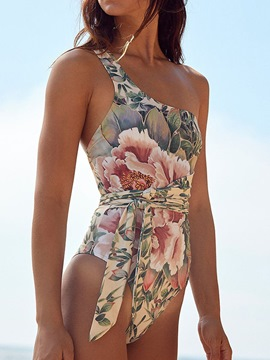 Ericdress One Piece Fashion Print Swimwear