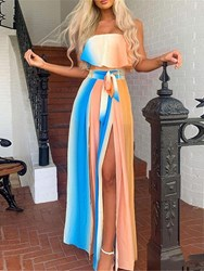 Ericdress Floor-Length Sleeveless Summer Pullover Dress