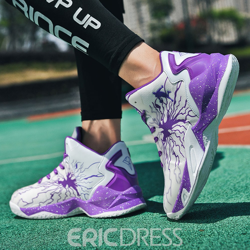 Ericdress Lace-Up High-Cut Upper Sports Lace-Up Sneakers