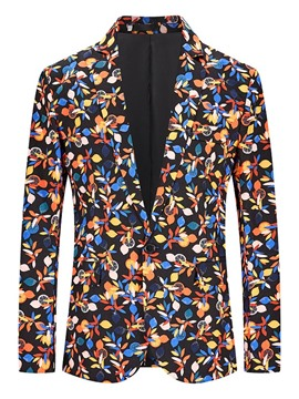 Ericdress Notched Lapel OL Print Leisure Blazer