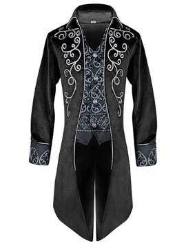 Ericdress Patchwork Color Block Long Sleeve Men's Costumes