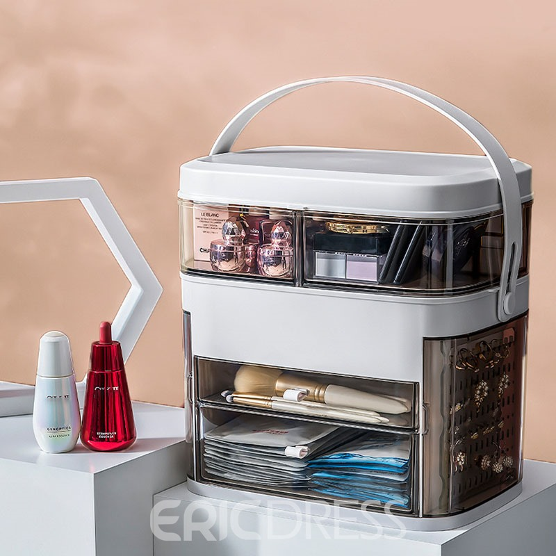 Ericdress Plain Cosmetic Storage Box Simple Storage Boxes