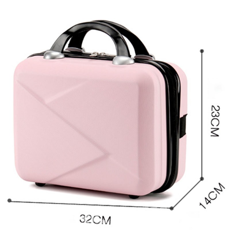 Ericdress Women's Plain ABS Plastic Cosmetic Bags/Cases