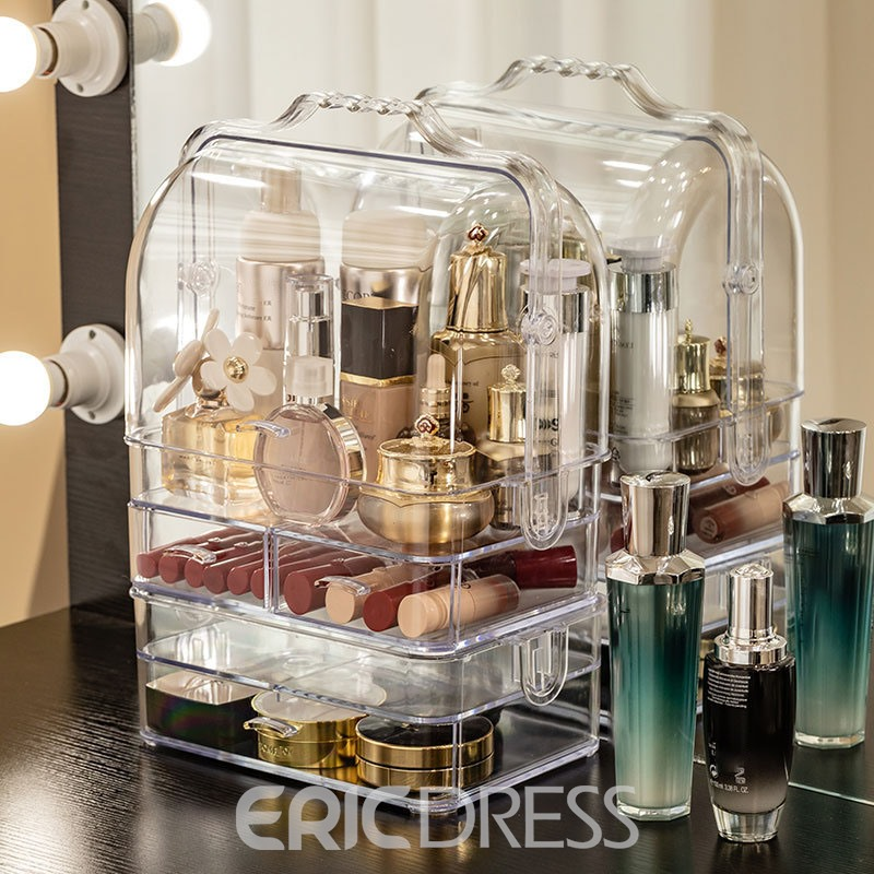 Ericdress Plain Acrylic Simple Storage Boxes