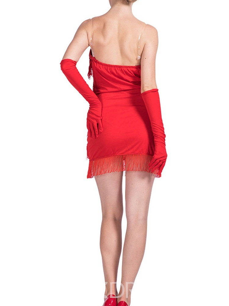 Ericdress Patchwork Plain Sleeveless Polyester Sexy Costumes