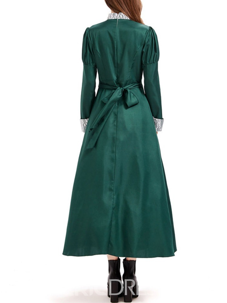 Ericdress Plain Western Long Sleeve Classic Halloween Polyester Costumes