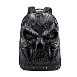 Ericdress PU Skull Embossing Backpacks