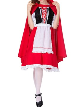 Ericdress Color Block Patchwork Western Blends Classic Halloween Costumes