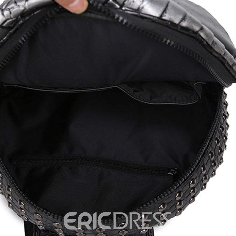 Ericdress Animal PU Thread Backpacks