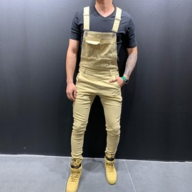 Ericdress Full Length Plain Suspenders Casual Jumpsuits/Overalls