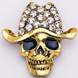 Ericdress Alloy Skeleton Brooches Halloween Brooches