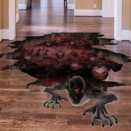Ericdress Halloween Floor Wall Stickers / Wall Decorations