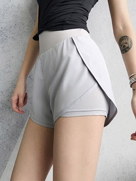 Ericdress Polyester Breathable Solid Shorts Street Dance Pants